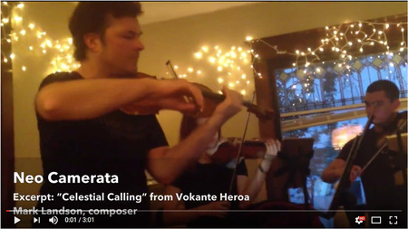 Neo Camerata live video of house concert